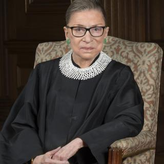 Portrait of Supreme Court Justice Ruth Bader Ginsburg