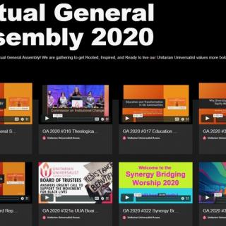 Viritual General Assembly 2020 Image