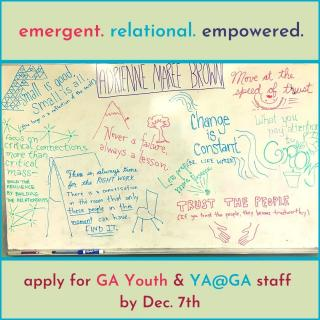YA@GA and GA Youth Application Promotion