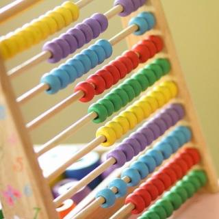 Colorful children's abacus
