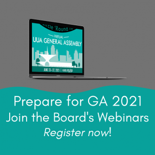 Prepare for GA 2021. Join the Board's Webinars. Register now!
