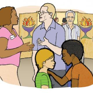 LEADER RESOURCE 1 Illustration - Greeting