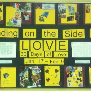 30 Days bulletin board 2014
