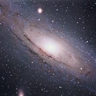 Image of Andromeda Galaxy, the nearest large galaxy to the Milky Way (approx 2.5 million light years away.