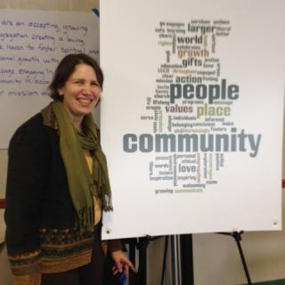 Renee Ruchotzke presents a Visioning Workshop at UU Congregation of Binghamton.