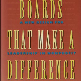 Boards That Make a Difference Book cover