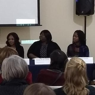 Panelists at the UU-UNO's CSW 62 panel on female genital mutilation
