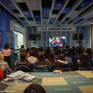 "Screening of the film ""India's Daughter"" at the US Embassy in Hanoi"