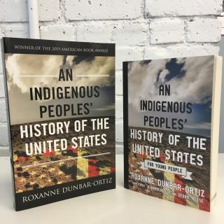 covers of Indigenous Peoples' History of the US and young people's version