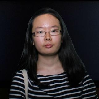 Photo of Jenny Ye with a black background