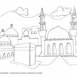 Tapestry of Faith, Creating Home, Session 15 JPEG illustration for Muhammad of Makkah