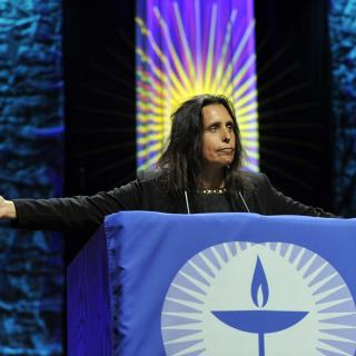 Ware Lecturer Winona LaDuke addresses General Assembly 2010
