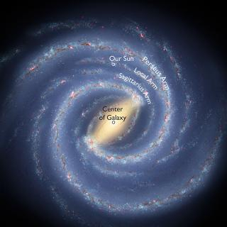 Picture of the Center of the Galaxy.