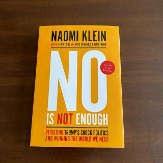 Cover of No is Not Enough