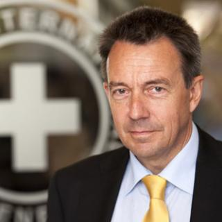 Photo of Peter Maurer, President of the International Committee of the Red Cross