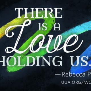 """There is a Love holding us,"" Rebecca Parker"