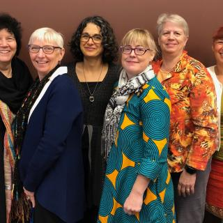 The UUA's cross-regional safe congregations team of six members.