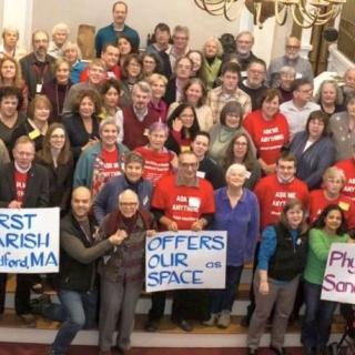First Parish Bedford UU votes to become a Sanctuary Church