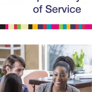 The Spirituality of Service pamphlet cover