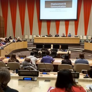 UU-UNO theme panel discussion during 2018 Spring Seminar held in ECOSOC Chamber in the UN Headquarters