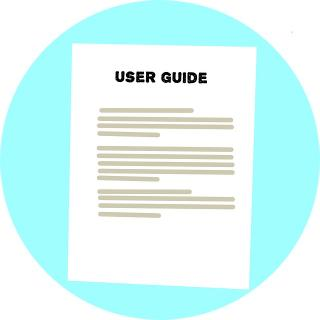 Graphic with User Guide