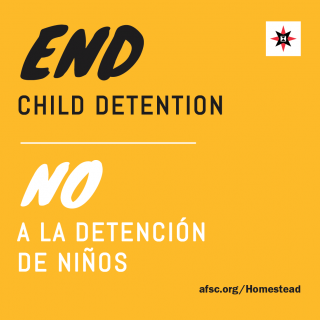 End Child Detention / No a la detencion de ninos