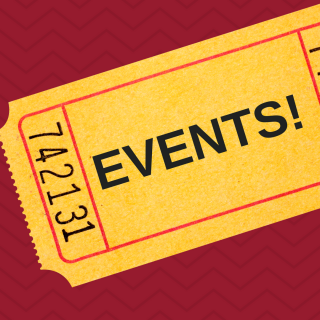 "Ticket labeled ""Events"""