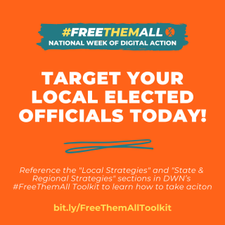 #FreeThemAll Digial Week of Action