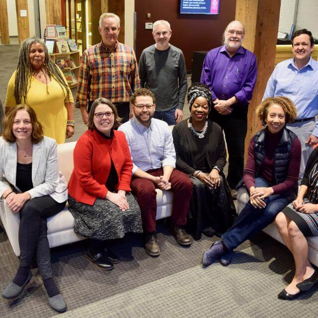 The UUA Leadership Council is 42 percent people of color in January 2020.