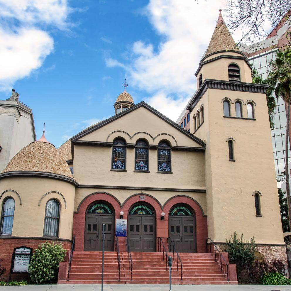 First Unitarian Church of San José, California.