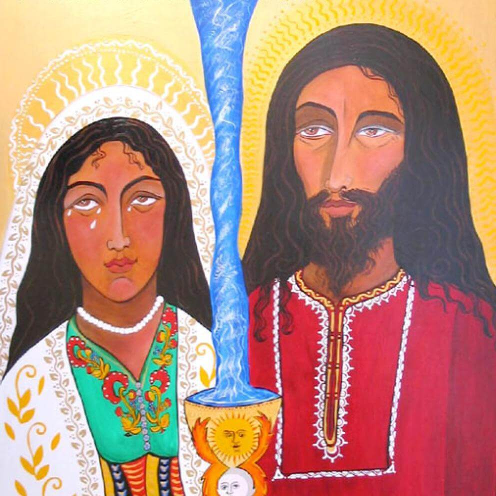 Yeshua y Magdalena a Week before Passover