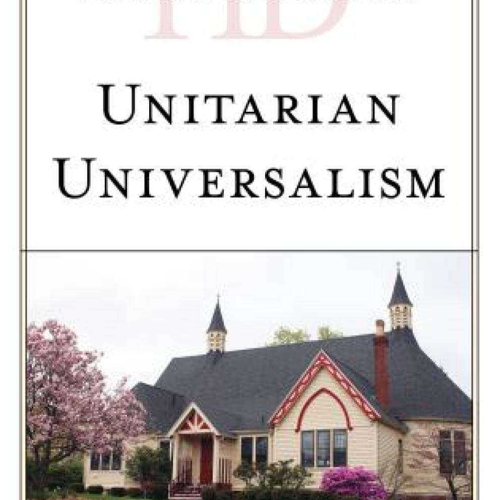 "Book cover for the book ""Historical Dictionary of Unitarian Universalism, Second Ed."" by Mark Harris"