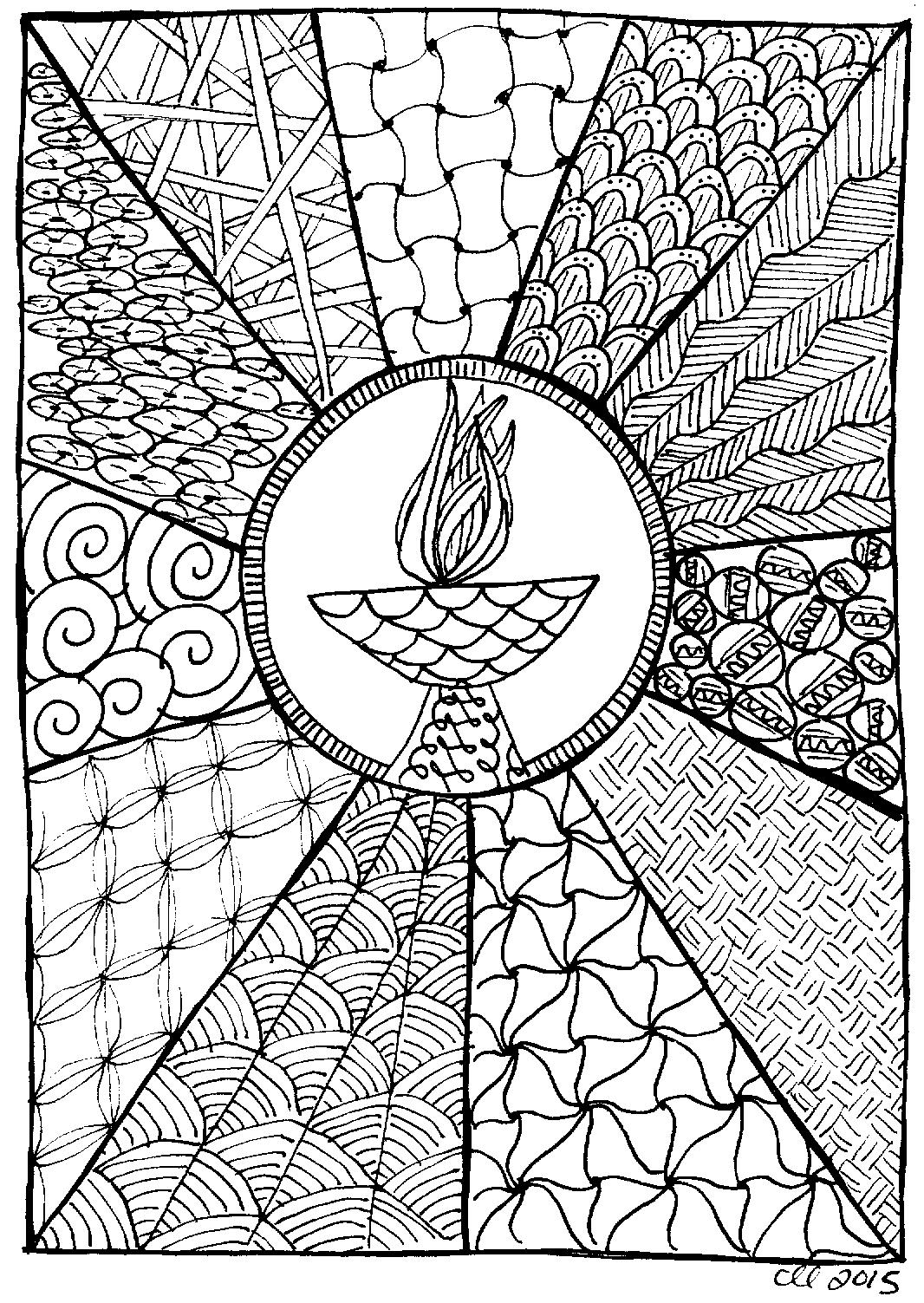Youth Logo Design Chalice Sunburst | UUA...