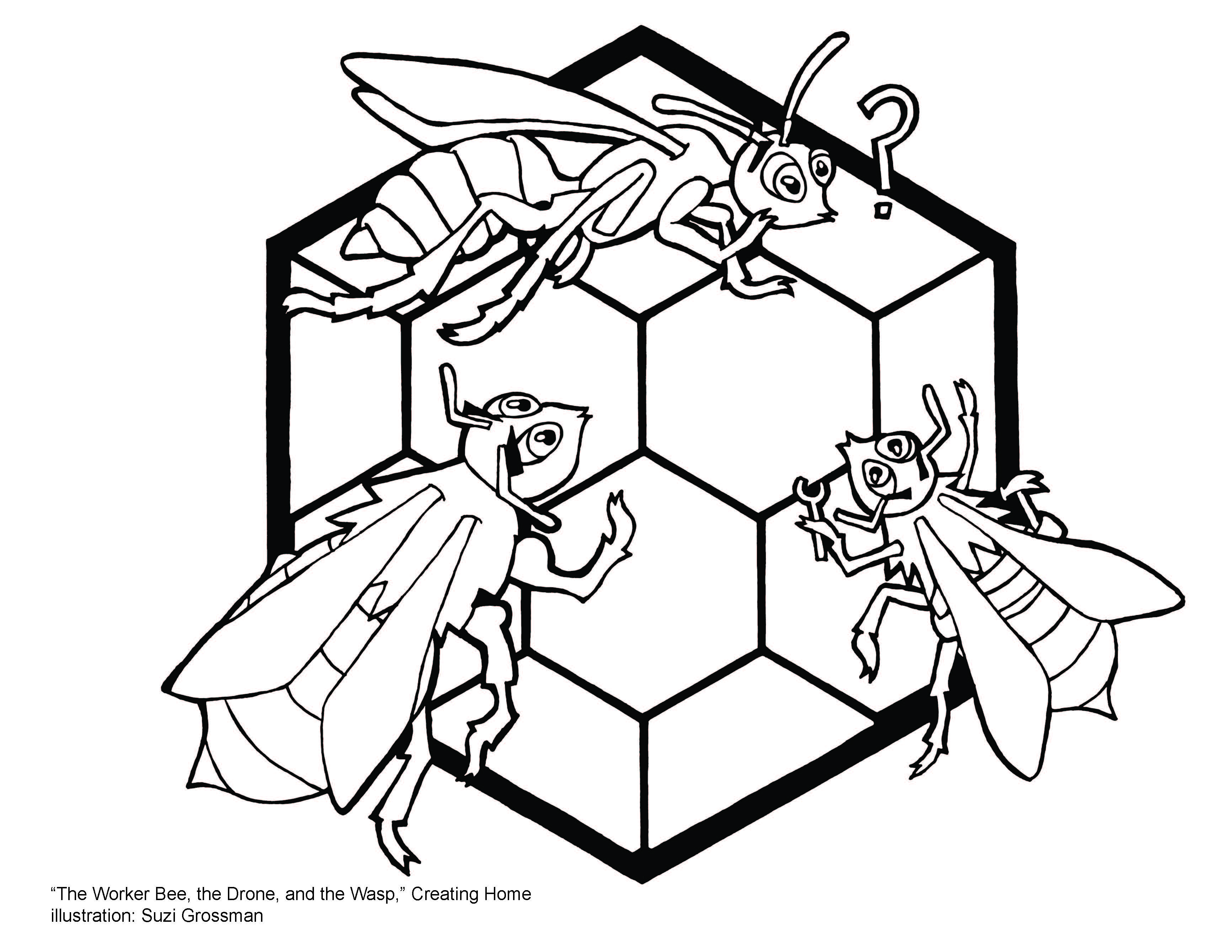 aesops fables and coloring pages - photo#39