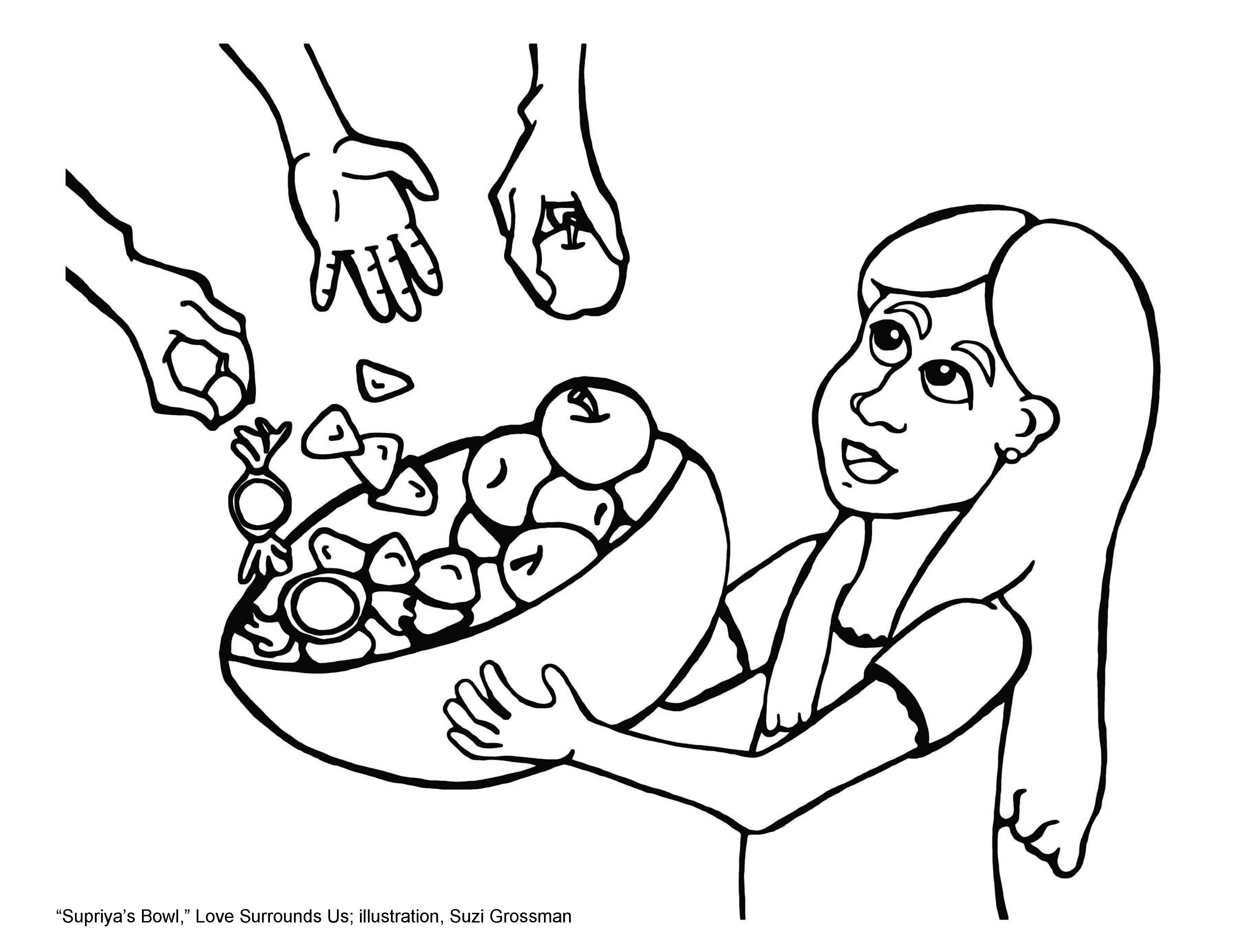 supriya u0027s bowl love surrounds us tapestry of faith uua org