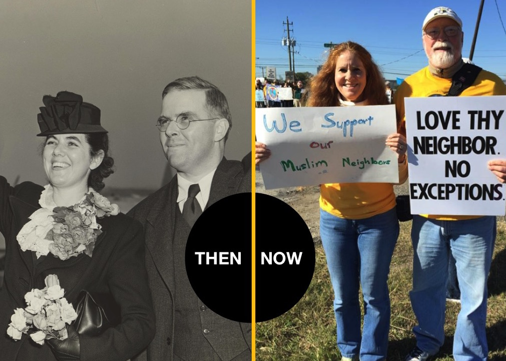 #wedefy then and now